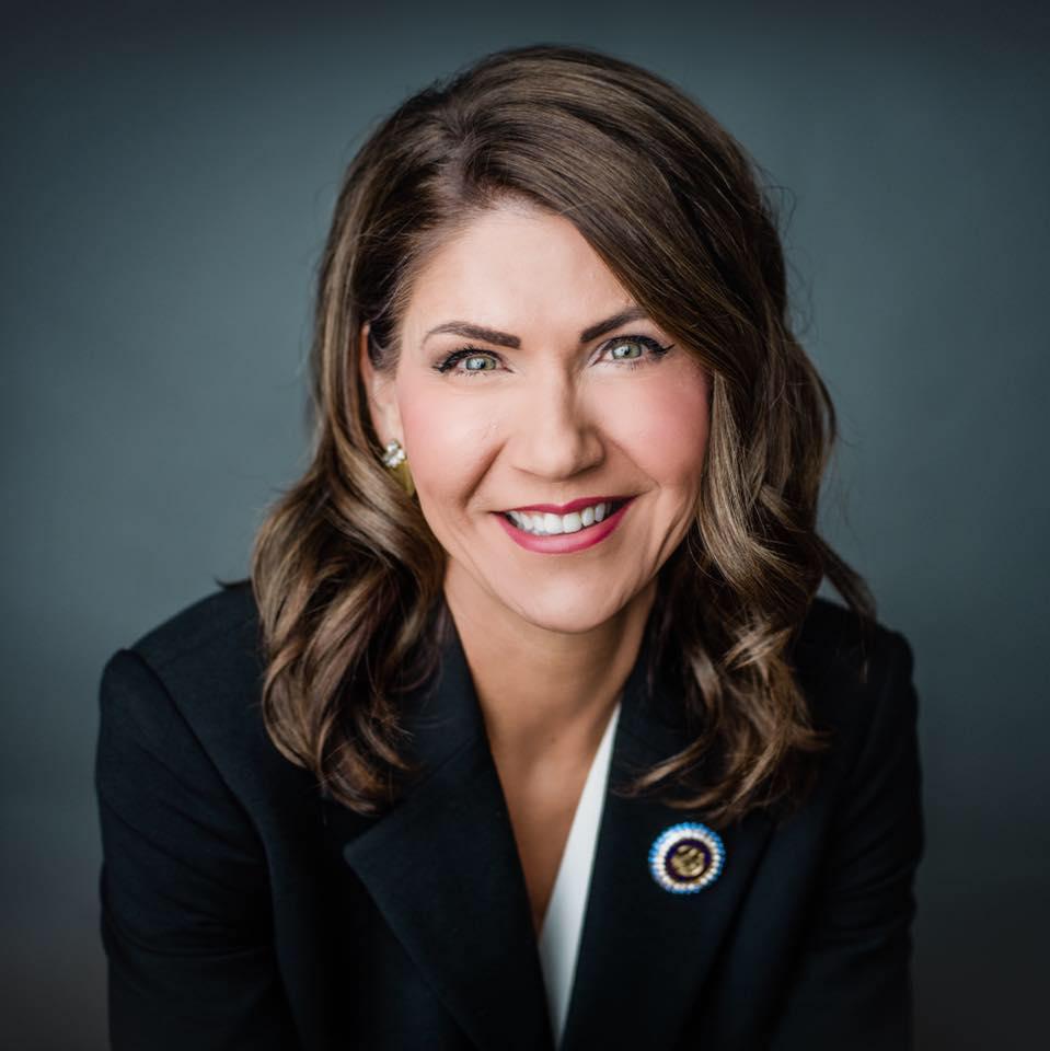 Headshot of South Dakota Gov. Kristi Noem
